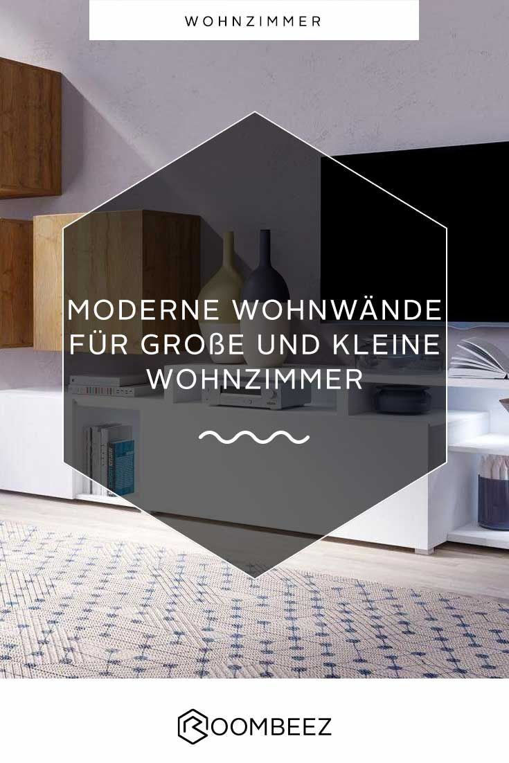 Moderne Wohnwände » Lösungen für kleine Räume | Roombeez @ OTTO ...