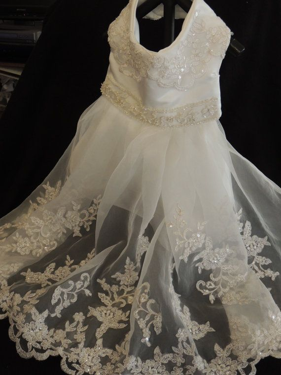 Medium Dog Wedding Dress by favorite4paws on Etsy, $30.00