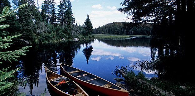 The rustic and beautiful Algonquin Park: | 10 Places In Ontario That The Locals Are Too Humble To Brag About