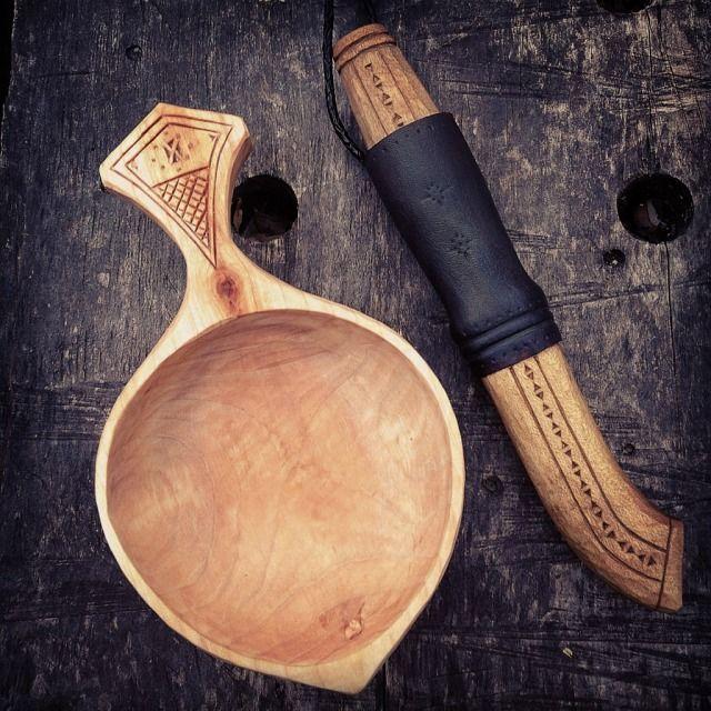 Best kuksa images on pinterest carved wood