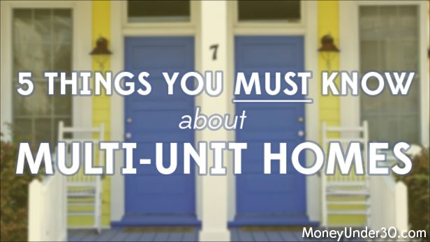 Living in a multi-family home while renting other units is a great way to build wealth, but it's not as simple as some make it sound. Read this before you even consider buying a duplex or other multi-family unit.