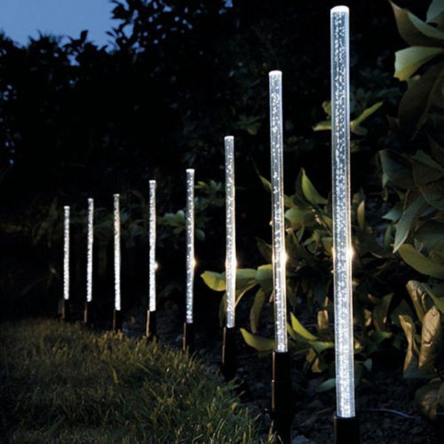 Creative Solar Power Tube Garden Lights Emargyn In 2020 Solar Lights Garden Solar Powered Lamp Solar Tube Lighting