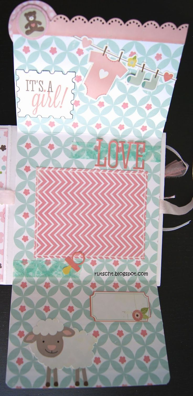 RUTSCHT: Mini álbum de bebé - Niña