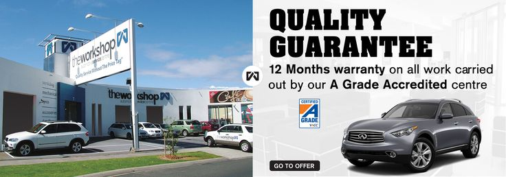 QUALITY GUARANTEED - The Workshop is the premier car service, repair and detailing Auto Service Centre in Mentone, Melbourne. We specialise in affordable, fixed price Car Service & Repair, including tyre repairs. - Book a Service Today!