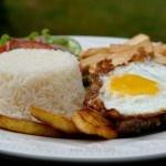 Ecuadorian food - Churrasco