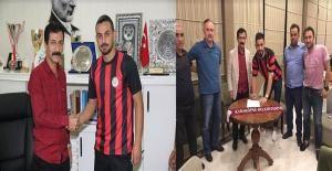 Karaköprü'den çifte transfer #KaraköprüBelediyespor #Kırıkhanspor #Şanlıurfa #AfjetAfyonspor #Transfer