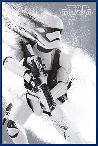 The Force Awakens Stormtrooper – Framed Movie Poster