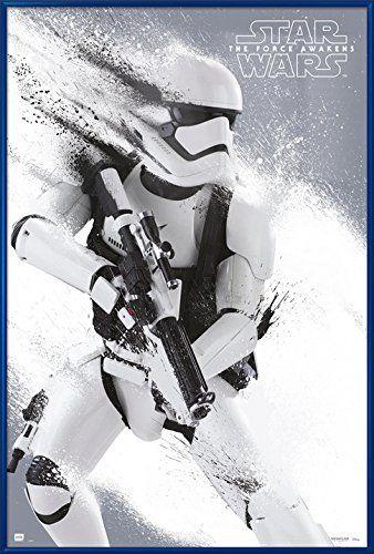 The Force Awakens Stormtrooper – Framed Movie Poster