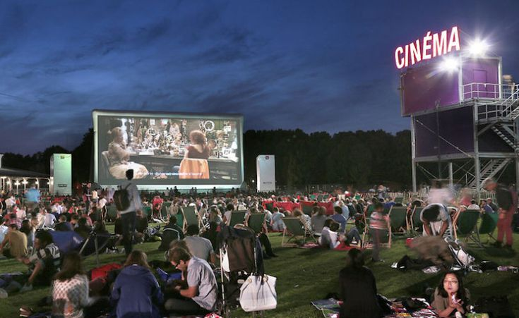 Watch a movie at the Cinéma Villette Plein air; The fantastic free open-air cinema festival Cinéma en Plein Air returns to Parc de La Villette every summer. It's just one of the events that brings the buzz to this increasingly hip corner of northeast Paris