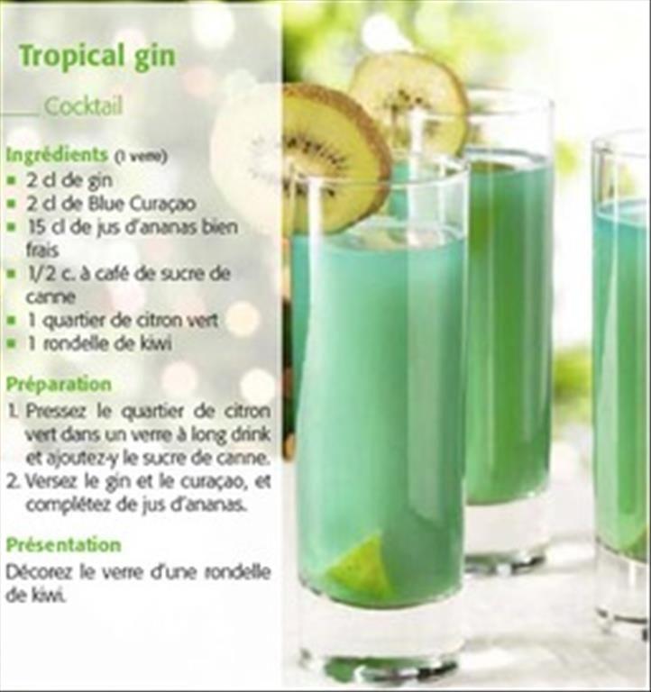 tropical gin