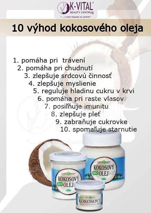 10 výhod kokosového oleja