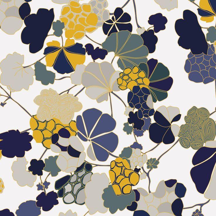 Florescence fl02 ressource 01 papiers peints wallpapers pintere - Prix peinture ressource ...