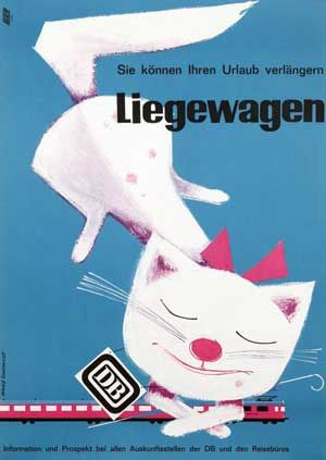 Deutsche Bundesbahn Liegewagen - 1964 - (Heinz Grave-Schmandt) -