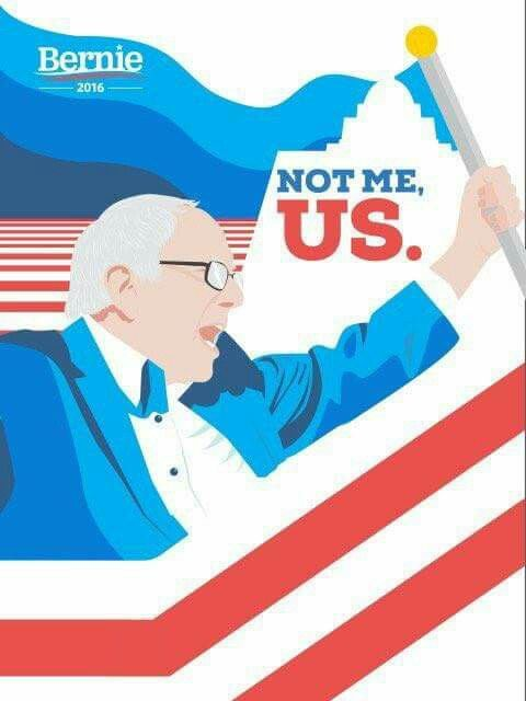 Vote Bernie Sanders for President! #BernieSanders2016  For more information on #BernieSanders  -->  FeelTheBern.org berniesanders.com sanders.senate.gov Are you in a closed primary election state? Change your party registration to democrat to be able to vote for #Bernie in the primary elections! Voteforbernie.org #FeelTheBern #WeAreBernie #NotMeUs