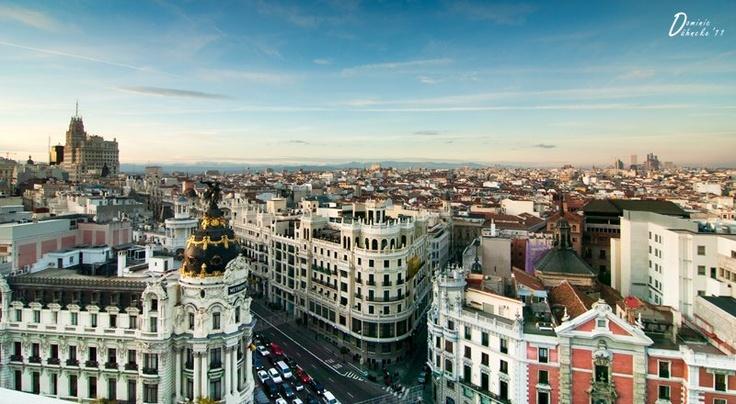 17 mejores im genes sobre ciudades y pueblos de espa a en for Direccion madrid espana