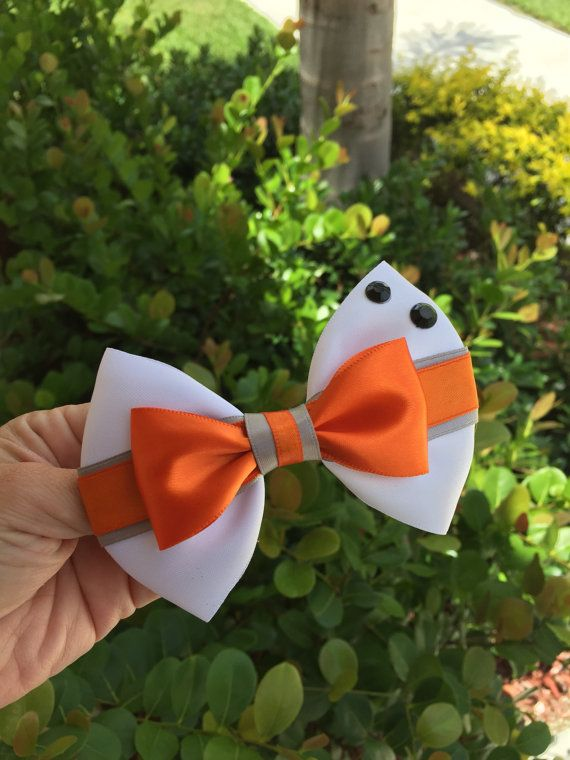 Star wars hairbow BB-8