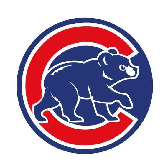 Chicago Cubs 4 Svg Eps Dxf Chicago Cubs Logo Chicago Cubs Cubs Art