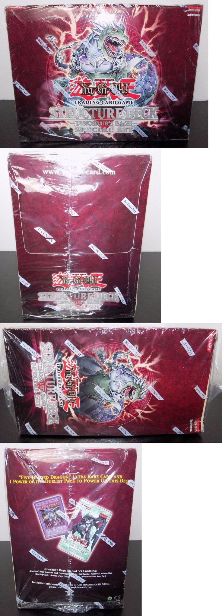 Yugioh Sealed Decks And Kits 183452: Dinosaur S Rage Special 1st