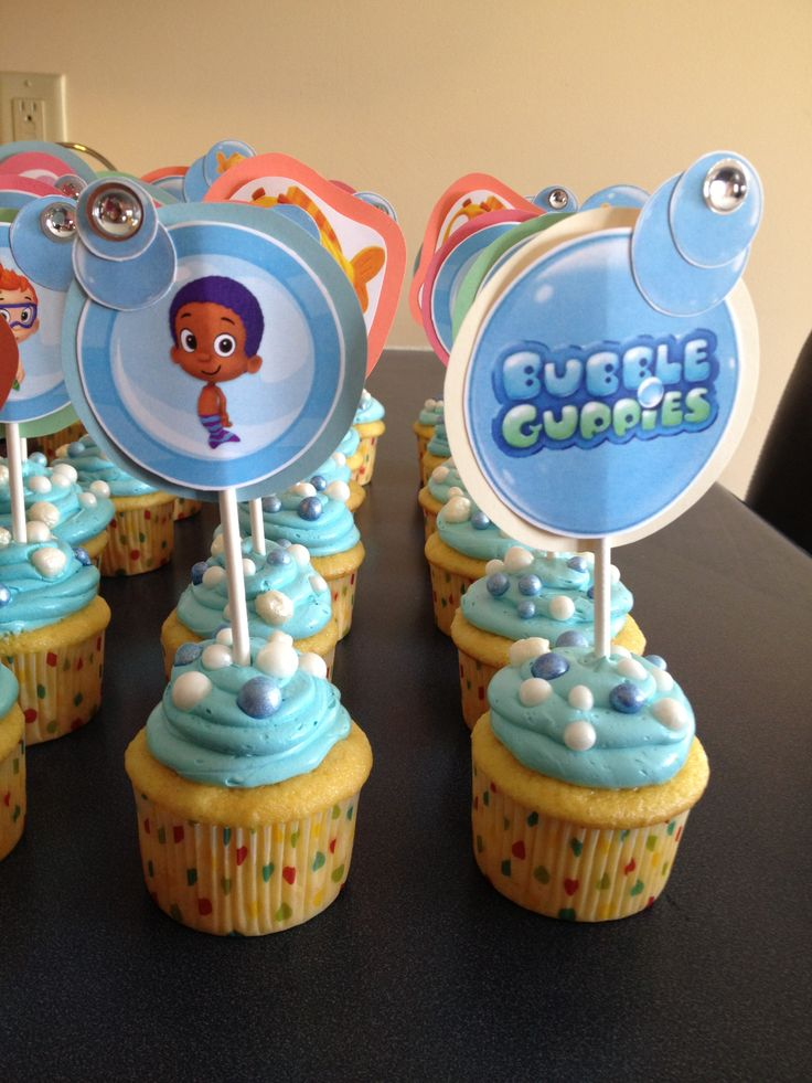 44 best images about ethan 39 s 2nd birthday bubble guppies - Bubulles guppies ...