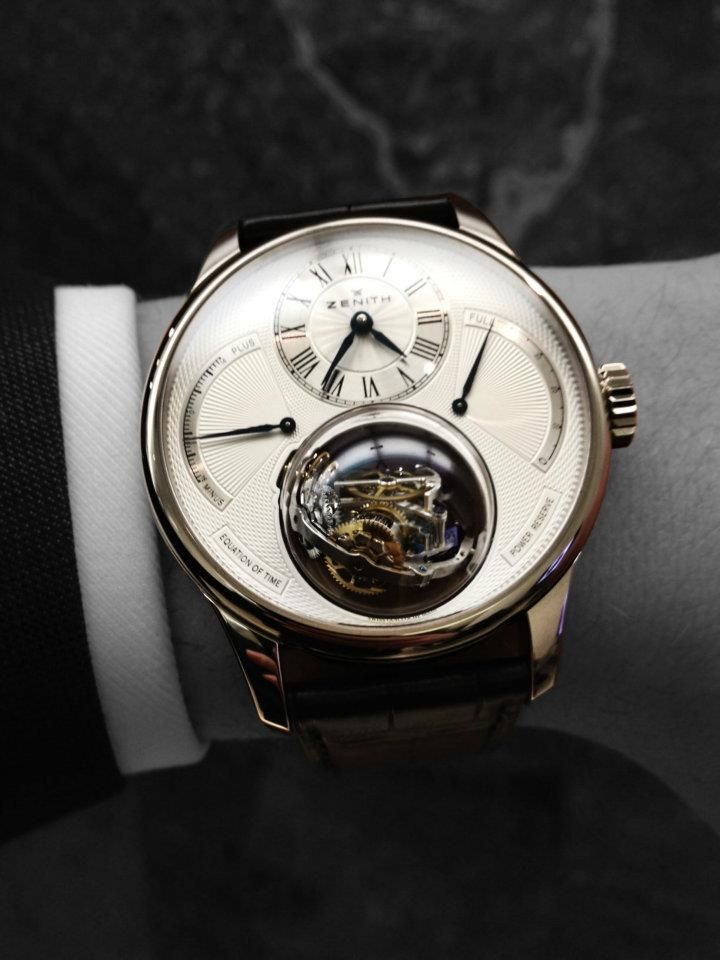 Zenith Christophe Colomb Equation of Time