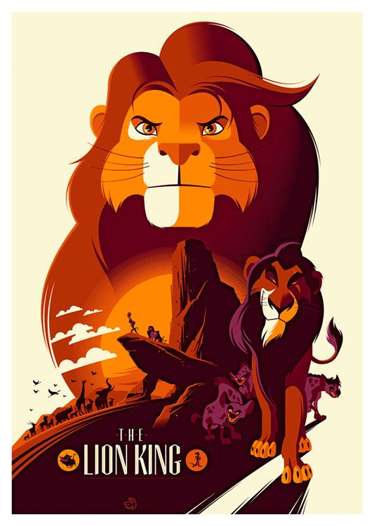 The Lion King Movie Poster, available at 45x32cm. This poster is printed on matt coated 350 gram paper.