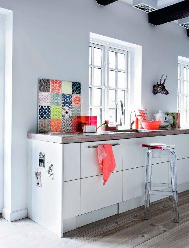 Jeux de style dans la cuisine modern boho decorative for Jrux de cuisine