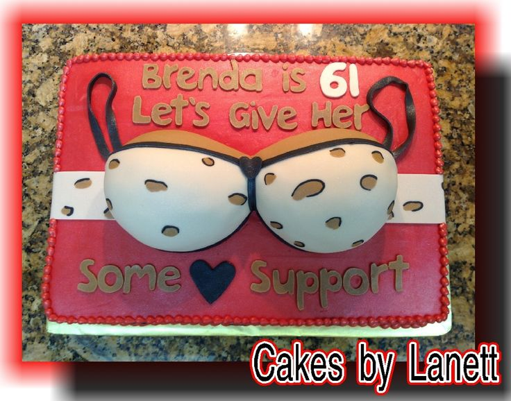 Pin Support Bra Cake All Occassion Ideas Cake on Pinterest
