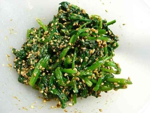お弁当の定番❤ほうれん草の胡麻和え♪の画像