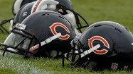 Chicago Bears helmets
