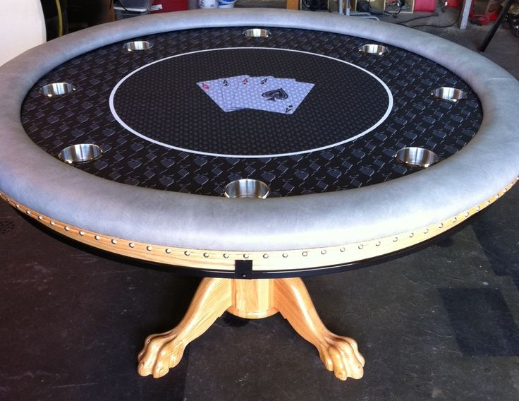custom 48 to 60 custom felt claw feet table skirt round casino quality poker pinterest. Black Bedroom Furniture Sets. Home Design Ideas