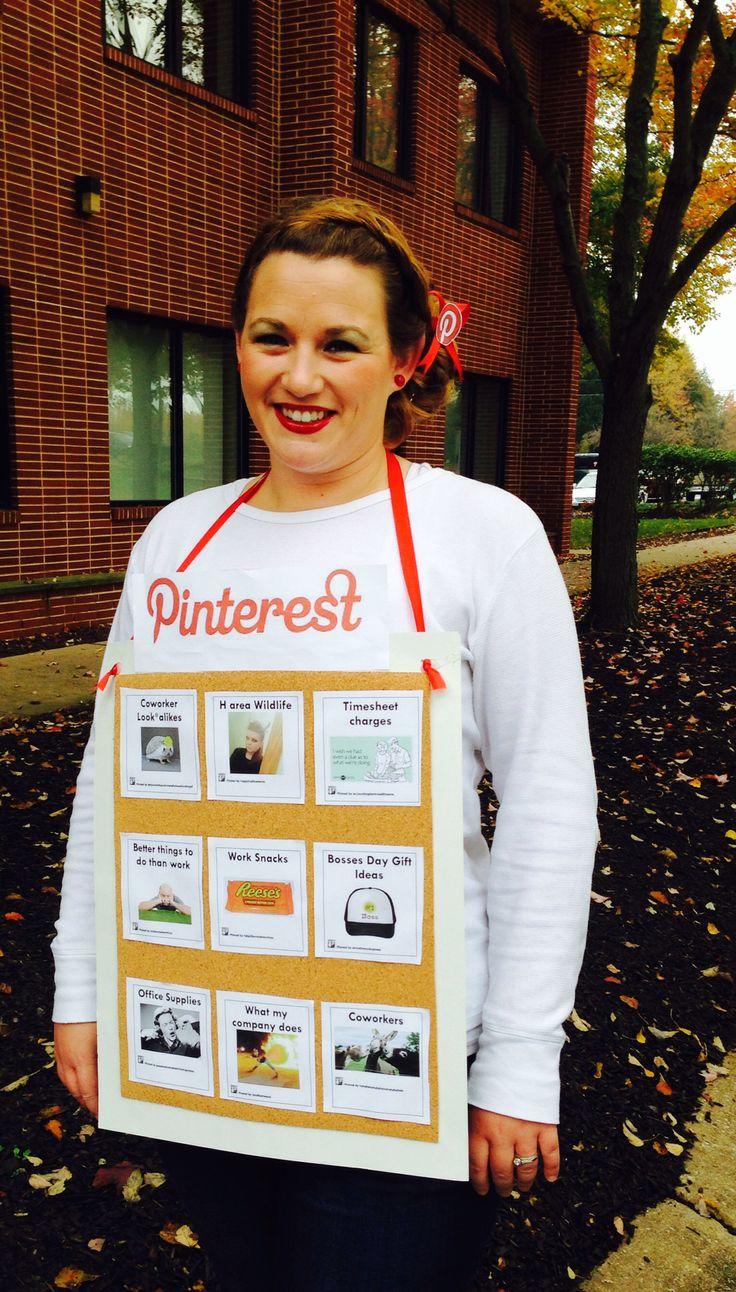 Pinterest Halloween costume DIY Pinterest