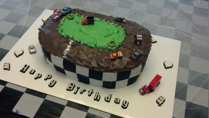 Car Track Cake Pictures