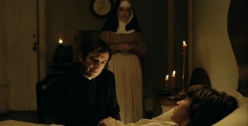 Adriano Luz as Father Dinis attends to the convalescent João, Directed by Raúl Ruiz