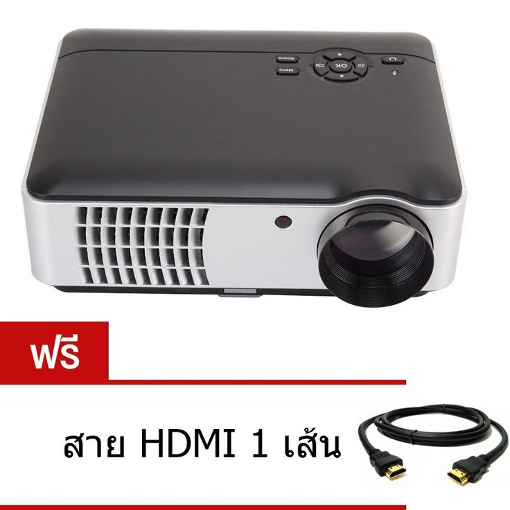 รีวิว สินค้า MINI LED PROJECTOR โปรเจคเตอร์ PROJECTOR LED RD806 WiFi FHD 1080P ฟรี สาย HDMIคุณภาพดี 1 เส้น มูลค่า 220 บาท ☏ โปรโมชั่นลดราคา MINI LED PROJECTOR โปรเจคเตอร์ PROJECTOR LED RD806 WiFi FHD 1080P ฟรี สาย HDMIคุณภาพดี 1 เส้น มูลค่า ราคาน่าสนใจ | couponMINI LED PROJECTOR โปรเจคเตอร์ PROJECTOR LED RD806 WiFi FHD 1080P ฟรี สาย HDMIคุณภาพดี 1 เส้น มูลค่า 220 บาท  สั่งซื้อออนไลน์ : http://online.thprice.us/tJ7mI    คุณกำลังต้องการ MINI LED PROJECTOR โปรเจคเตอร์ PROJECTOR LED RD806 WiFi…