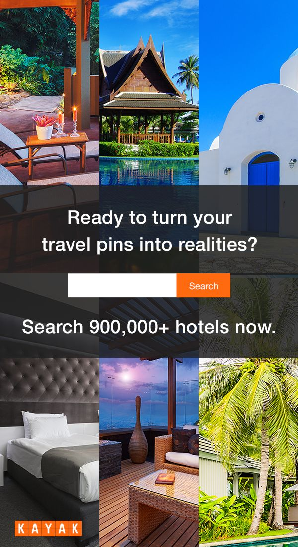 Looking for the perfect hotel? KAYAK searches hundreds of travel sites at once for over 900,000 hotels worldwide with millions of verified reviews. Whether you're looking for a quaint beachside inn with free WiFi or an urban luxury escape with a pet- friendly policy, we can find what you're searching for. #TravelProblemSolved