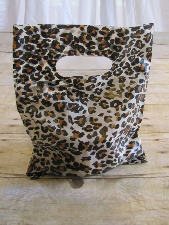 20 Leopard Party Favor Bags, Treat bags, Animal Print, gift bag,  birthday party, bachelorette party on Etsy, $4.98