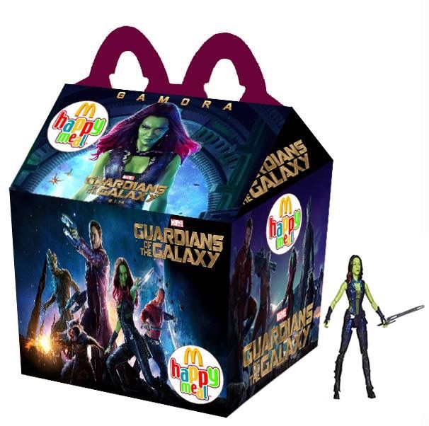 "Guardians Of The Galaxy ""Gamora"" Happy Meal"