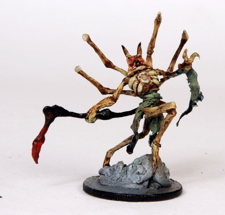 80 Horror Miniatures set in a Lovercraftian Universe. Well balanced gameplay, amazing art and a story offer the Horror experience!  Spider Ghost: http://www.kickstarter.com/projects/magecompany/the-amityville-project-phobos-0