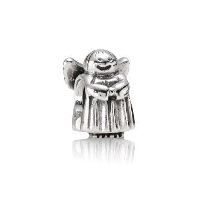 PANDORA's Angel of hope.  She just makes you smile.  Also available in 14K gold.