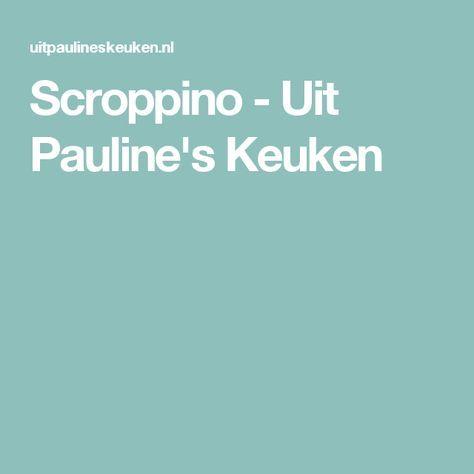 Scroppino - Uit Pauline's Keuken