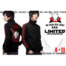 "Jaket Crows - One Eared Devil Rabbit ""KKK""#edisi terbaru#harga terjangkau#pin BB:	21320945"