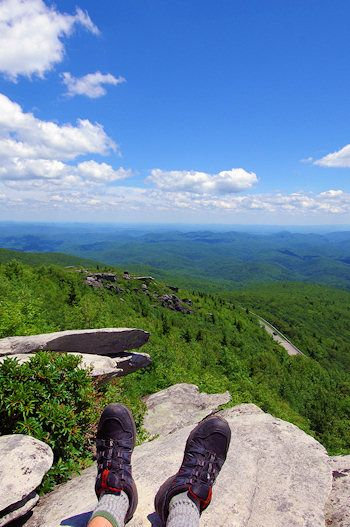 Top 60 Hikes & Trails in Western North Carolina (pictured - Rough Ridge Hike)
