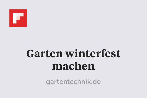 Garten winterfest machen http://flip.it/NhKT6