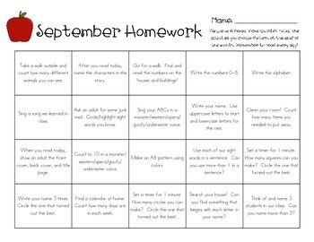 Blooms Homework Grid 1st - image 3