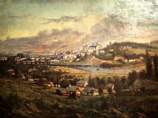 town of Peremyshl in the 19th century