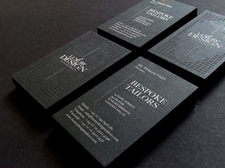 145 best luxury business cards images on pinterest luxury business luxury design tailors business cards reheart