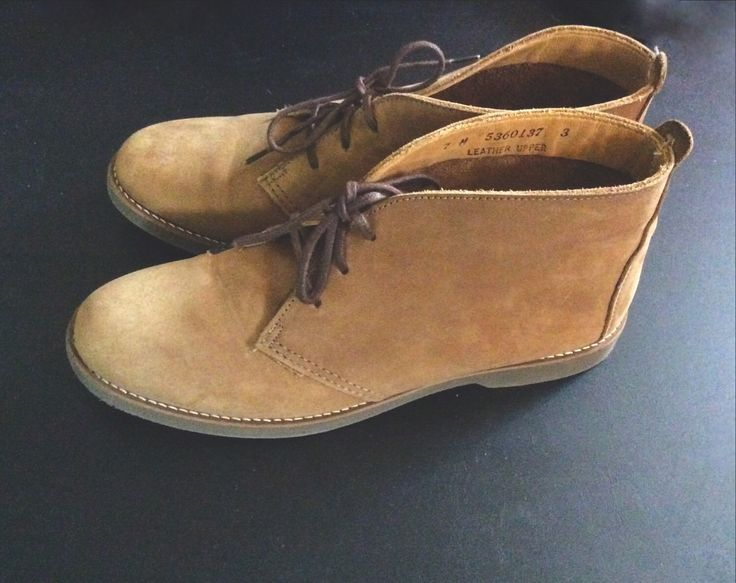 A personal favorite from my Etsy shop https://www.etsy.com/listing/228812044/vintage-womens-tan-suede-chukka-desert