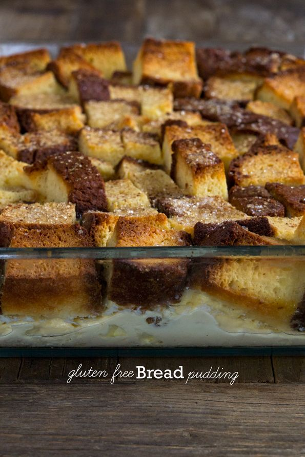 Gluten Free Bread Pudding - Gluten Free on a Shoestring