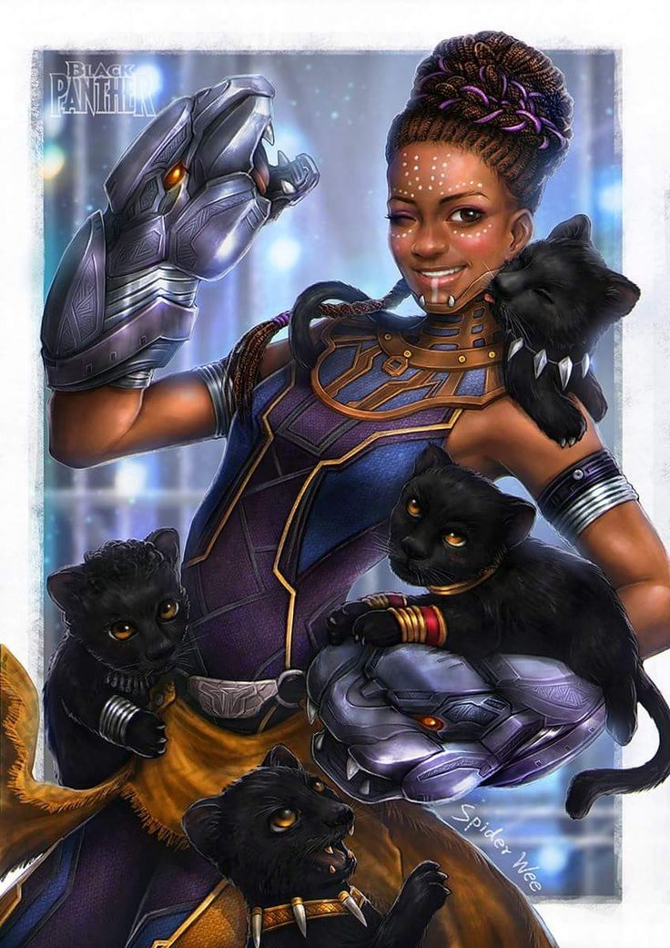 Srsy tho what's the point of beeing a wakanda princess ( except being shuri ) if u can't build a Panter army