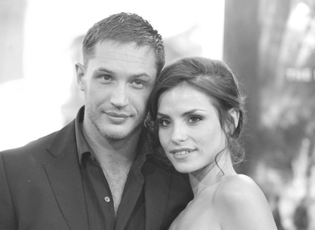 This is him and his lady, Charlotte Riley   35 Pictures Of Tom Hardy For 35 Hardy Years